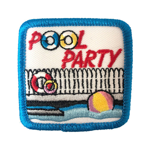 Heart Of the South Pool Party Patch