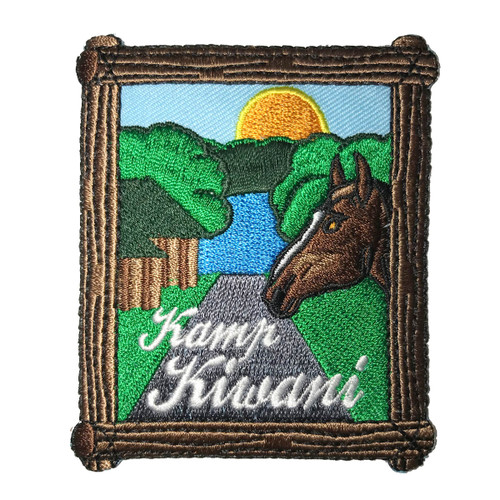 Heart of the South Kamp Kiwani Patc