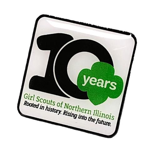 GSNI 10th Anniversary Pin