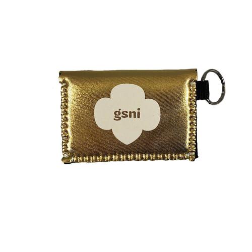 GSNI Gold Metallic Coin Purse