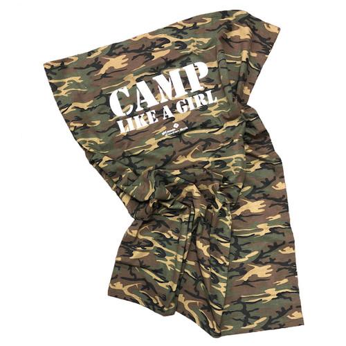 GSNI Camp Like A Girl Fleece Camo B