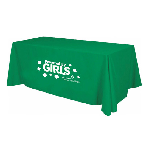 GSNI Powered By Girls Table Cloth
