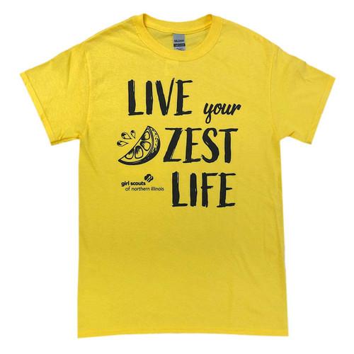 GSNI Live Your Zest Life Tee