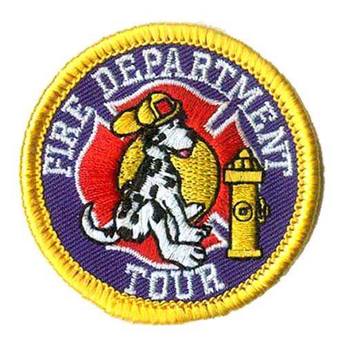 GSNI Fire Department Tour Fun Patch