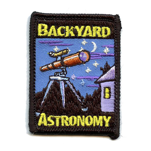 GSNI Backyard Astronomy Fun Patch