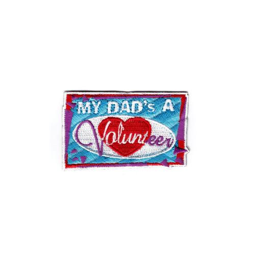 GSNI My Dad's A Volunteer Fun Patch