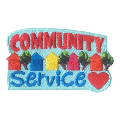 GSNI Community Service Fun Patch