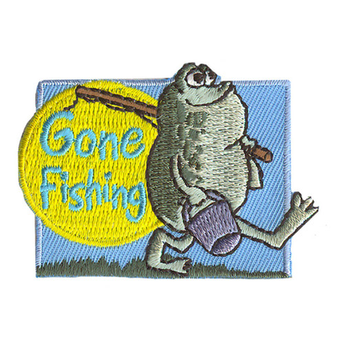 GSNI Gone Fishing Fun Patch