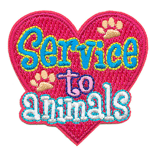GSNI Service to Animals Fun Patch