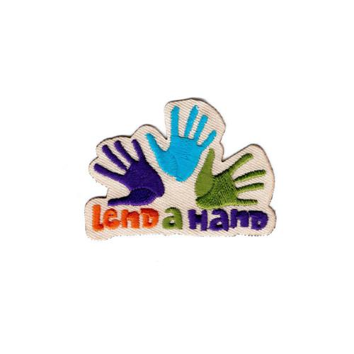 GSNI Lend a Hand Fun Patch