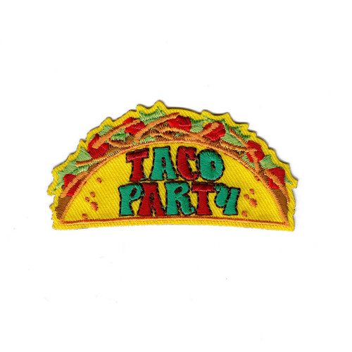 GSNI Taco Party Fun Patch