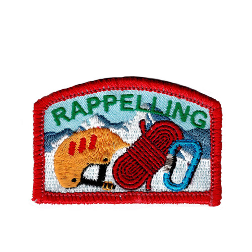 GSNI Rappelling Fun Patch