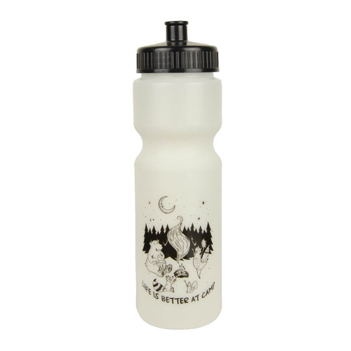 Glow-in-the-Dark Camp Water Bottle