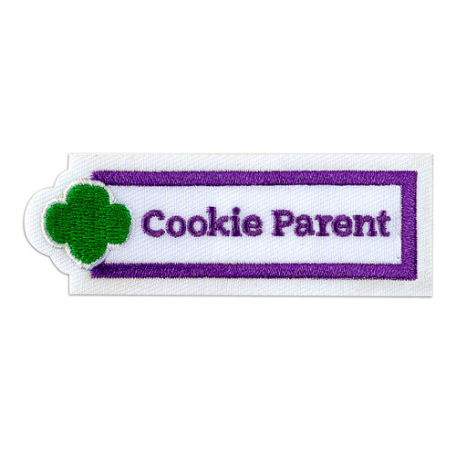 Cookie Parent Sew-On Adult Patch