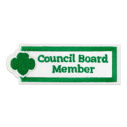Council Board Member Adult Patch