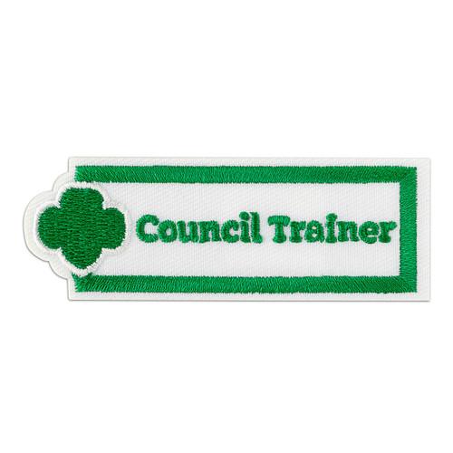Council Trainer Adult Patch