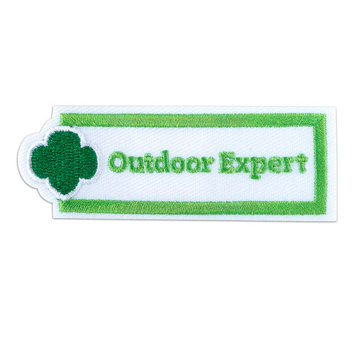 Outdoor Expert Sew-On Adult Patch