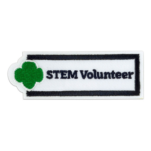 STEM Volunteer Sew-On Adult Patch