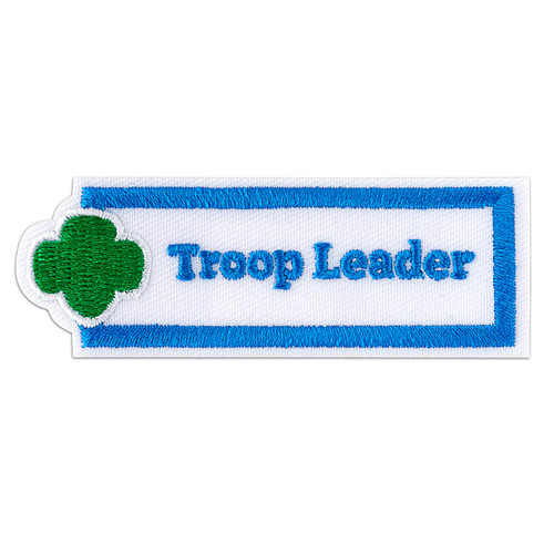 Troop Leader Sew-On Adult Patch