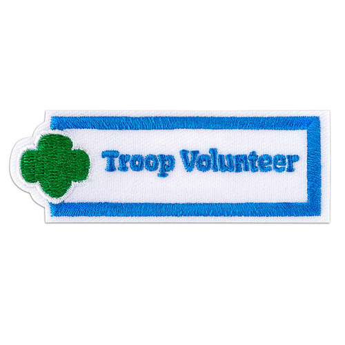 Troop Volunteer Sew-On Adult Patch