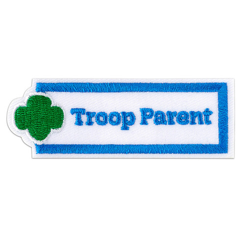 Troop Parent Sew-On Adult Patch