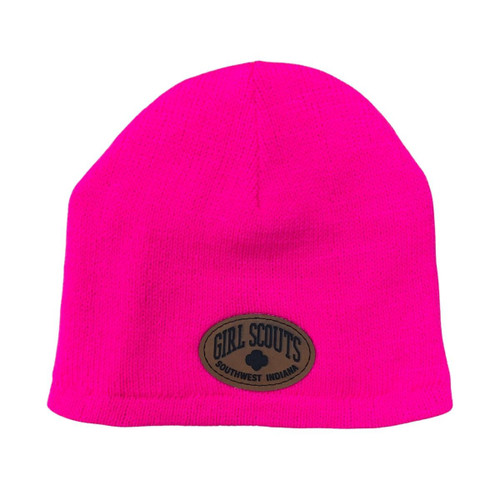 GSSI Fleece Lined Beanie pink