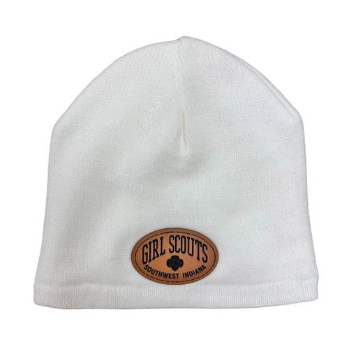 GSSI Fleece Lined Beanie white