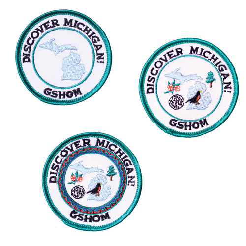 GSHOM Discover Michigan Patches