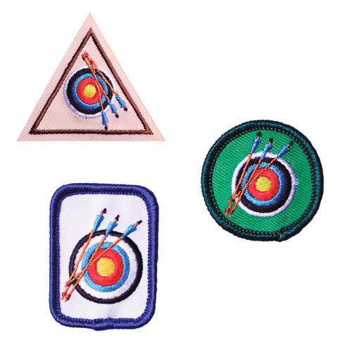 GSHOM MI Archery Patches