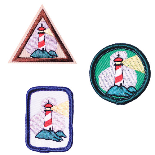 GSHOM MI Lighthouse Patches