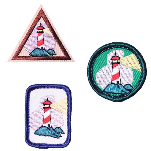 GSHOM MI Lighthouse Patches