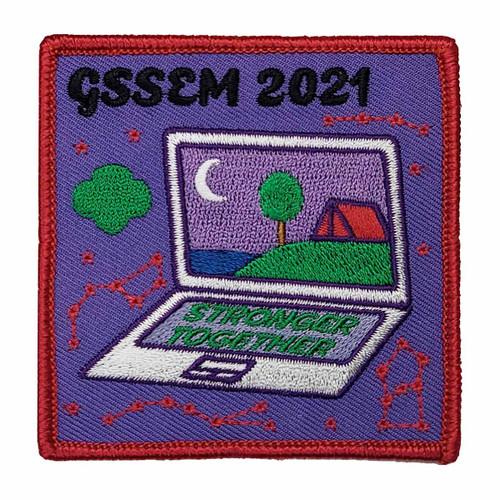 GSSEM 2021 Council Patch