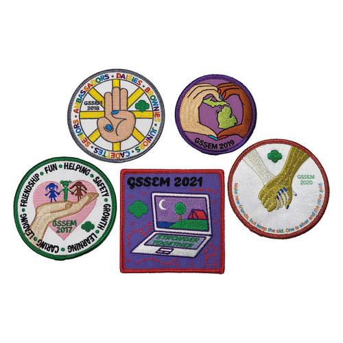 GSSEM Council Patch Collector's Set
