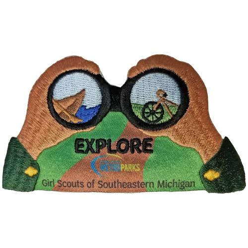 GSSEM Metroparks Explorer Patch Pro