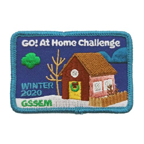 GSSEM GO! at Home Challenge Patch P