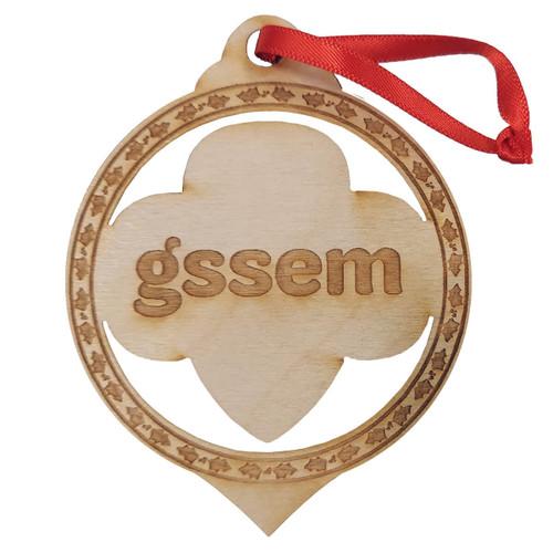 GSSEM Birch Ornament