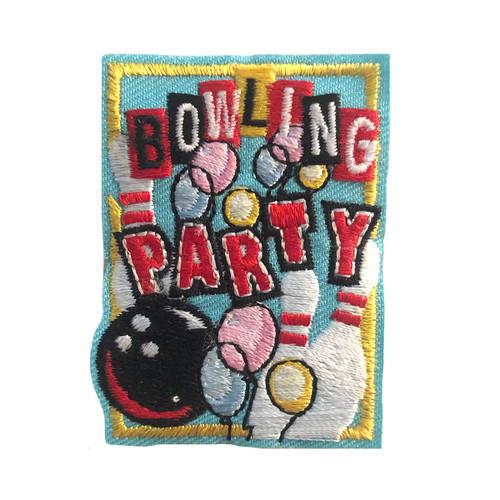 GSMWLP Bowling Party Fun Patch