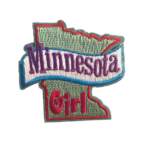 GSMWLP Minnesota Girl Fun Patch