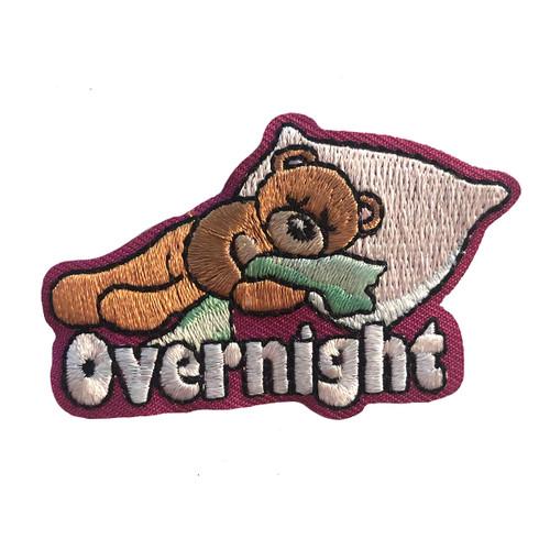 GSMWLP Overnight Bear Fun Patch