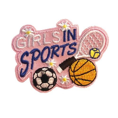 GSMWLP Girls in Sports Fun Patch