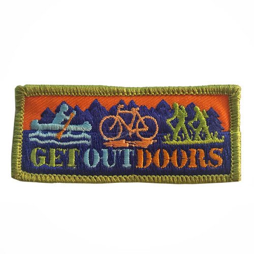 GSMWLP Get Outdoors Fun Patch