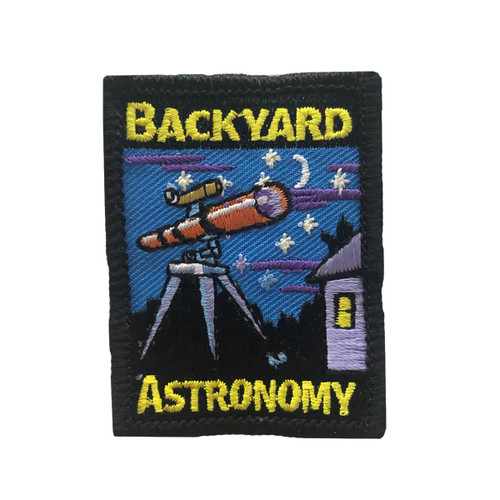 GSMWLP Backyard Astronomy Fun Patch