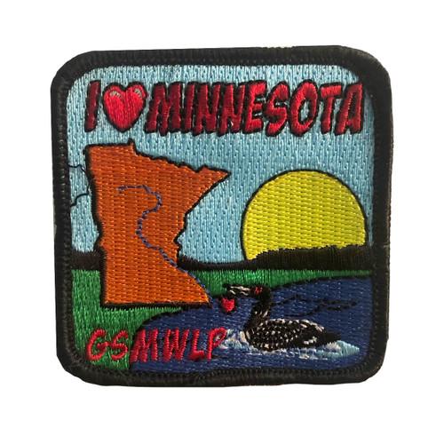 GSMWLP I Love Minnesota Patch