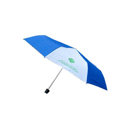 "GSMWLP Blue and White 42"" umbrella"