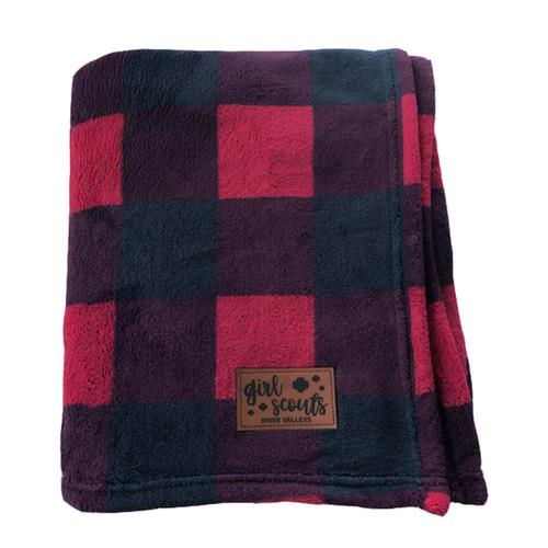 Red & Black Plaid Blanket