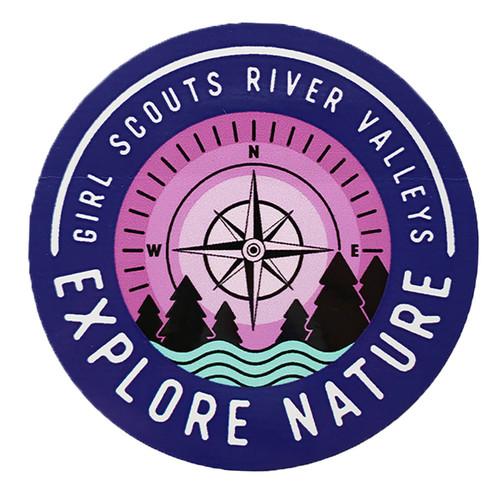 GSRV Explore Nature Sticker