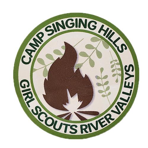 GSRV Camp Singing Hills Sticker
