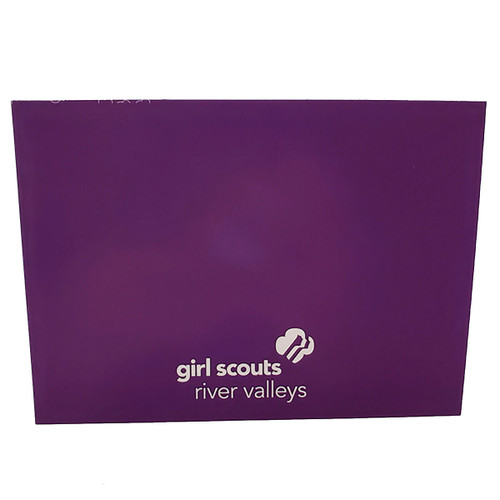 GSRV Purple Thank You Card
