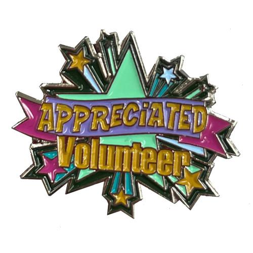 GSRV Appreciated volunteer pin