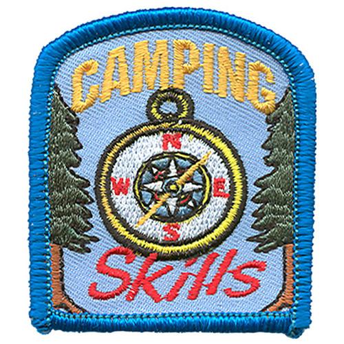 GSRV Camping Skills fun patch